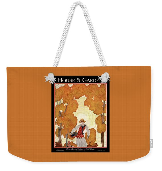 House And Garden House Planning Number Cover Weekender Tote Bag