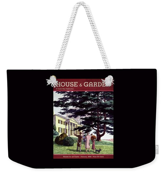 House And Garden Houses For All Tastes Cover Weekender Tote Bag