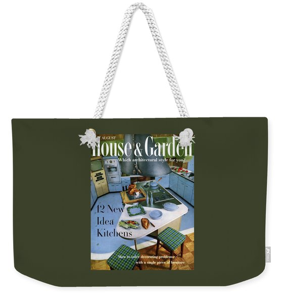 House And Garden Kitchen Ideas Issue Weekender Tote Bag