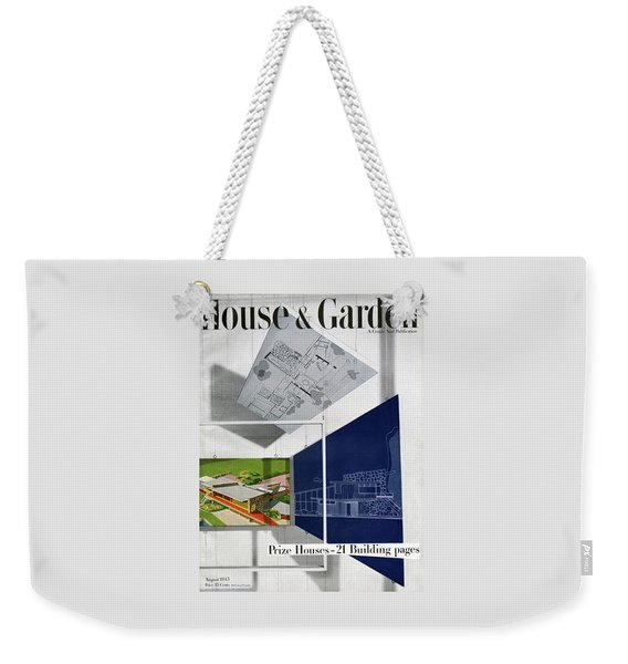 House And Garden Prize House Cover Weekender Tote Bag