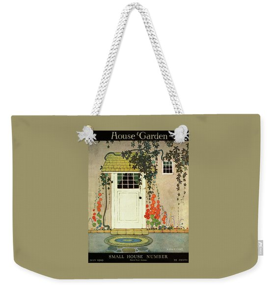 House And Garden Small House Number Cover Weekender Tote Bag