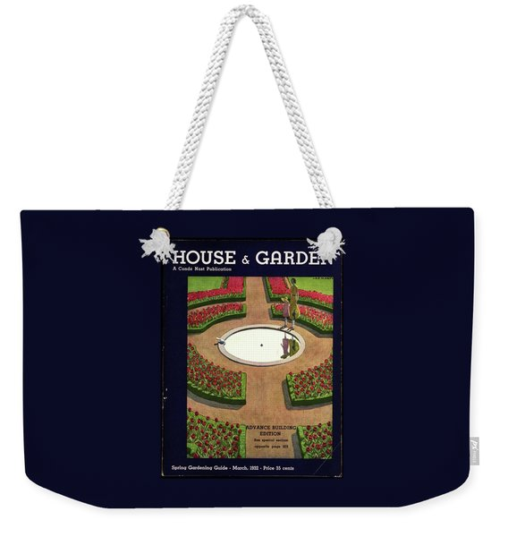 House And Garden Spring Gardening Guide Cover Weekender Tote Bag