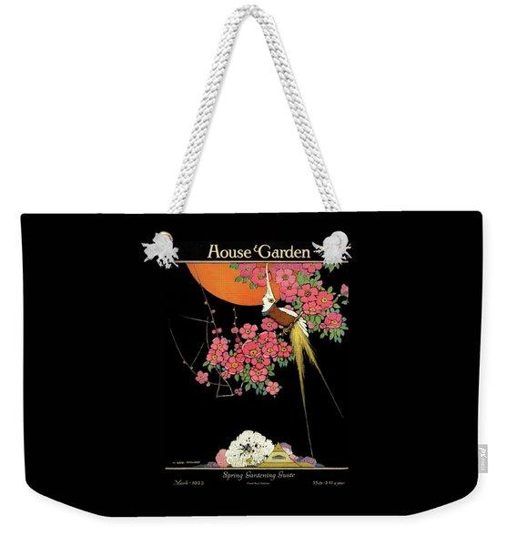 House And Garden Spring Gardening Guide Weekender Tote Bag