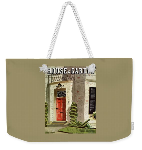 House And Garden Trends In Decorating Cover Weekender Tote Bag