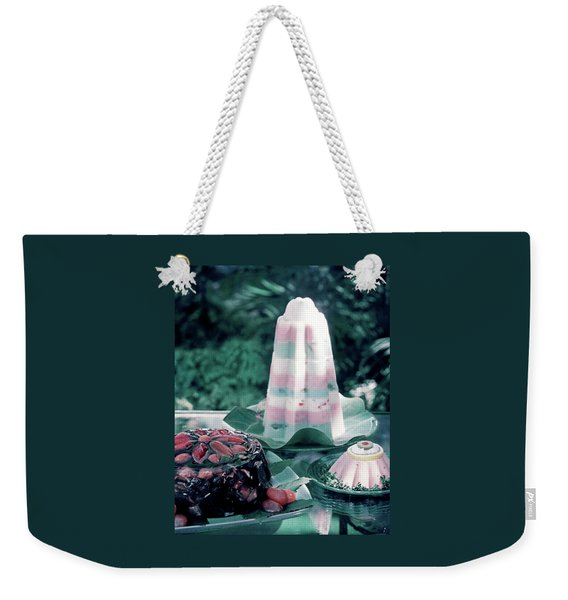 House And Garden's Cold Cook Book Cover Featuring Weekender Tote Bag