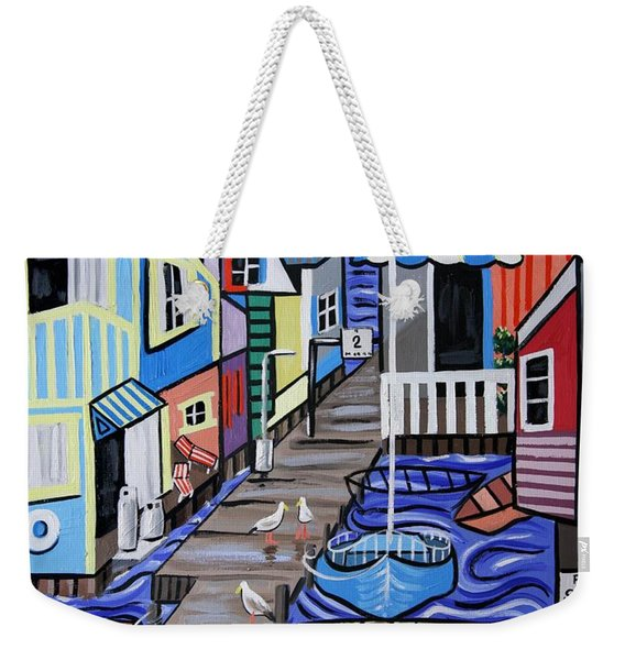 House Boats For Sale Weekender Tote Bag