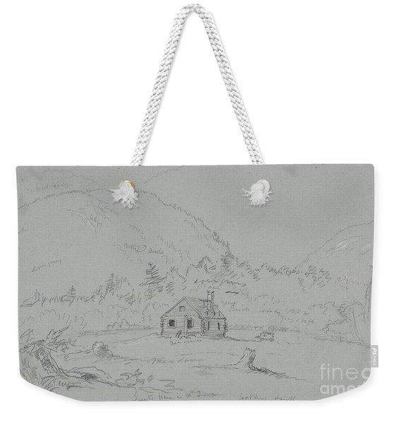 House In Mount Desert Weekender Tote Bag