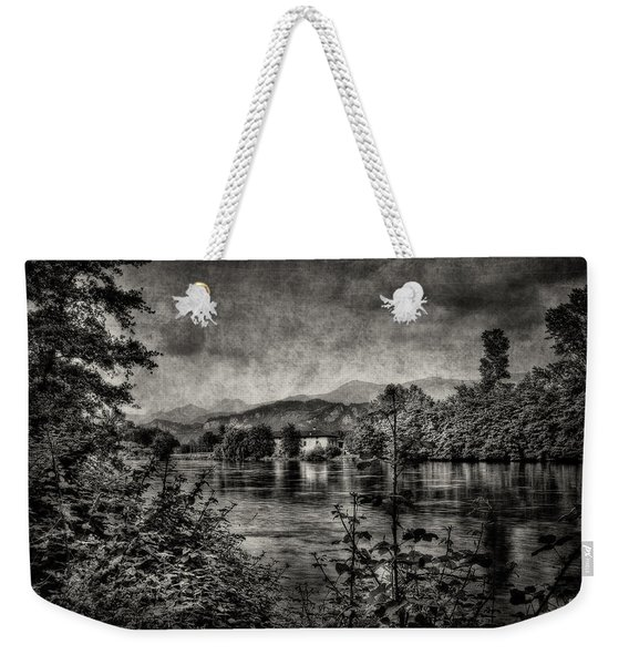 House On The River Weekender Tote Bag