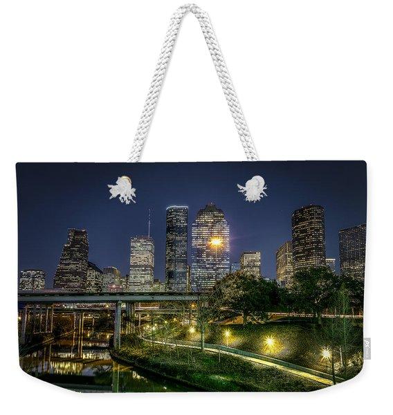 Houston On The Bayou Weekender Tote Bag