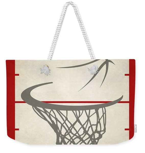 Houston Rockets Court Weekender Tote Bag