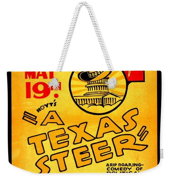 Hoyts A Texas Steer Weekender Tote Bag