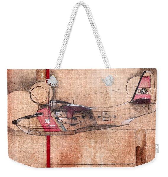Hu 16 Albatross Weekender Tote Bag