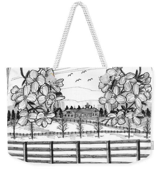 Hudson Valley Apple Blossoms Weekender Tote Bag