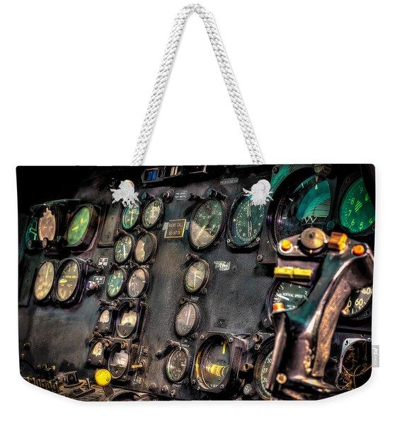 Huey Instrument Panel Weekender Tote Bag