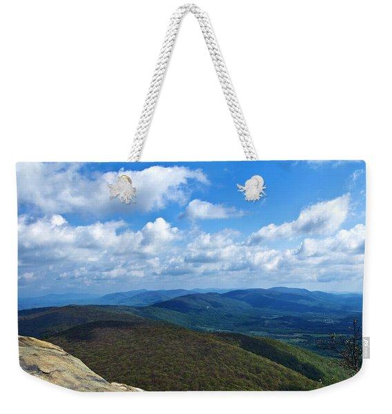Humpback Rocks View North Weekender Tote Bag