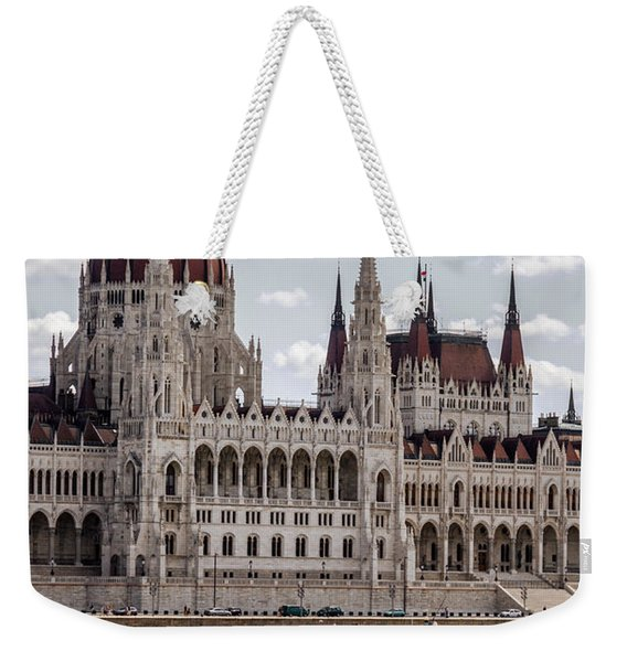 Hungarian Parliament Across The Danube Weekender Tote Bag