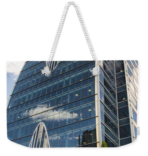 Hunt Oil Tower Weekender Tote Bag