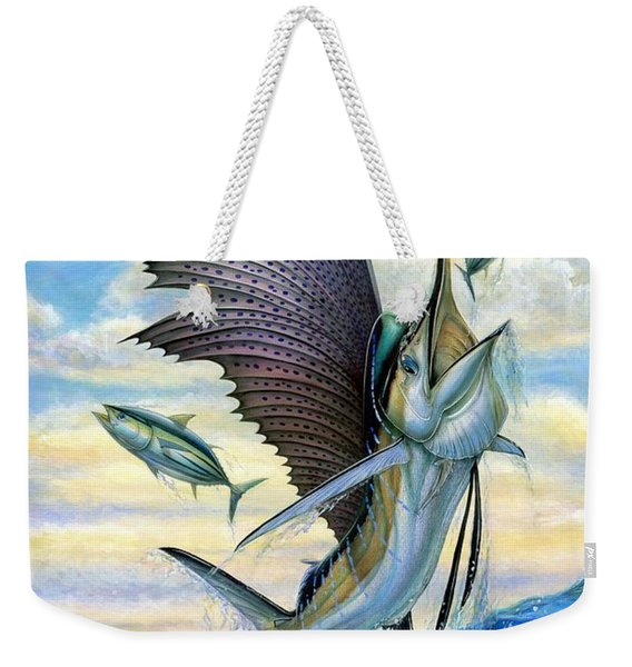 Hunting Of Small Tunas Weekender Tote Bag