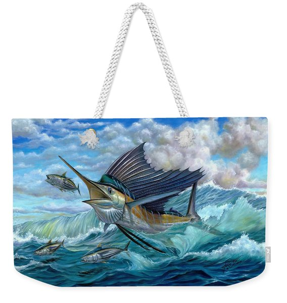 Hunting Sail Weekender Tote Bag