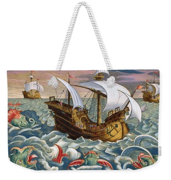 Hunting Sea Creatures Weekender Tote Bag