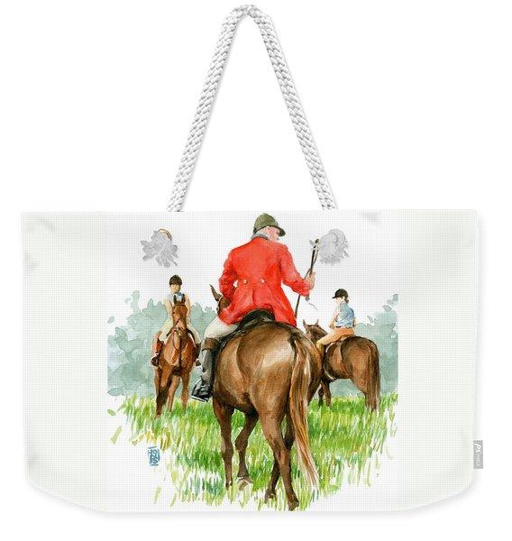 Huntsman Weekender Tote Bag