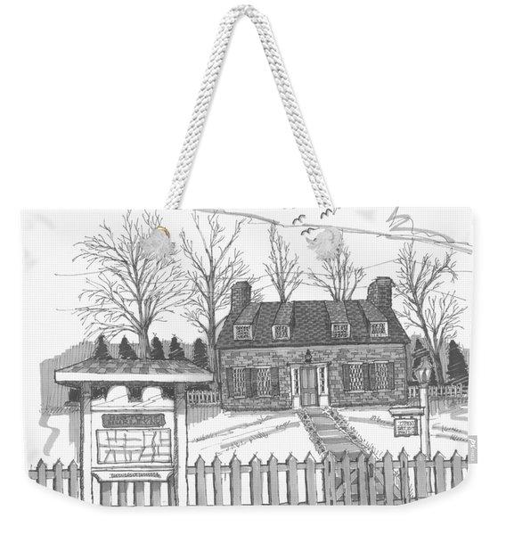 Hurley Historical Society Weekender Tote Bag