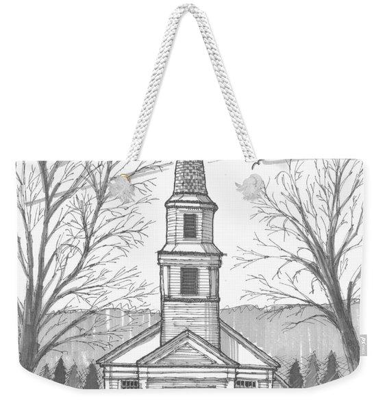 Hurley Reformed Church Weekender Tote Bag
