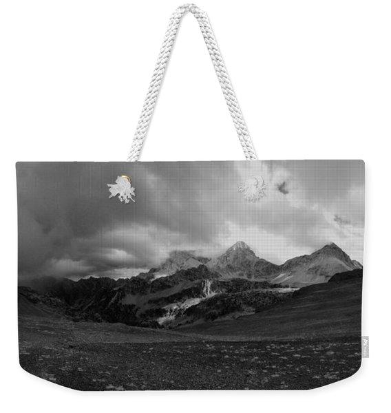 Hurricane Pass Storm Weekender Tote Bag