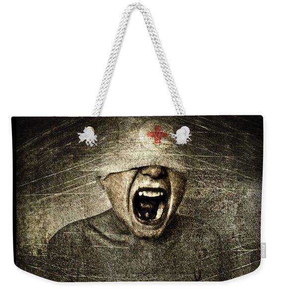 Hurt Weekender Tote Bag