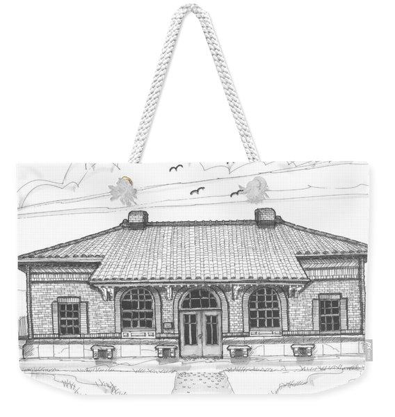 Hyde Park Historic Train Station Weekender Tote Bag