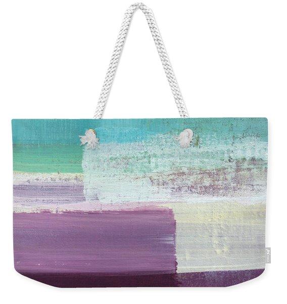 Hydrangea- Abstract Painting Weekender Tote Bag