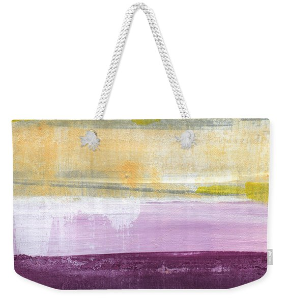 Hydrangea Two - Abstract Painting Weekender Tote Bag