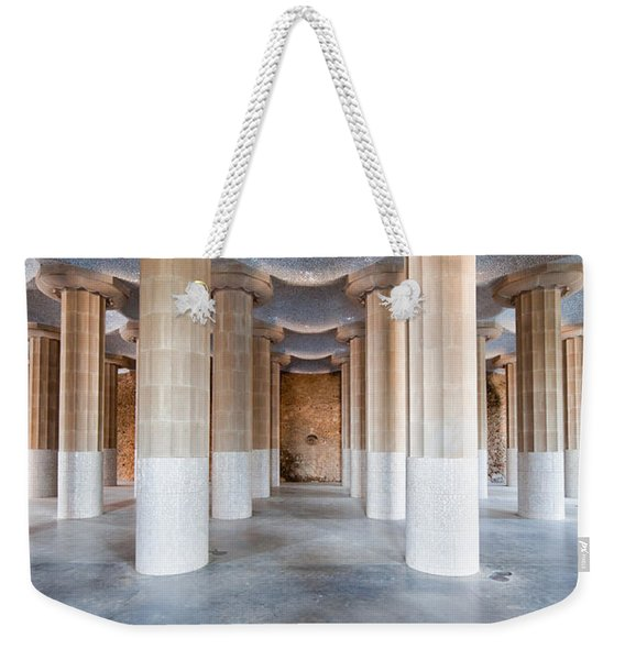 Hypostyle Room In Park Guell Weekender Tote Bag