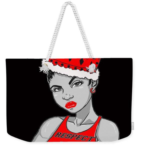 I Am Queen Weekender Tote Bag