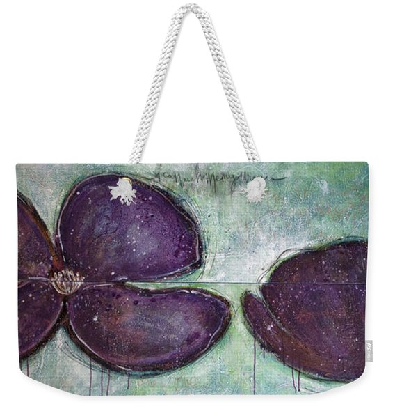 I Can See Home In Your Eyes Poppies Weekender Tote Bag
