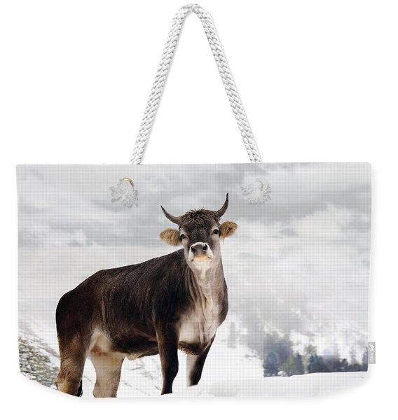 I Don't Like Snow Weekender Tote Bag