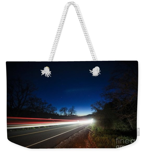 I Drove All Night Weekender Tote Bag