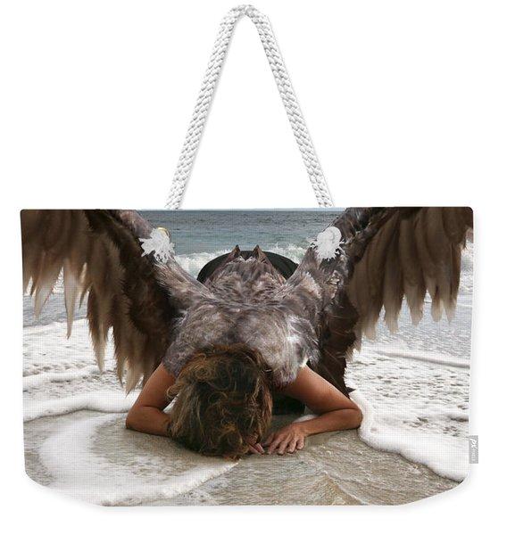 I Feel Your Sorrow  Weekender Tote Bag