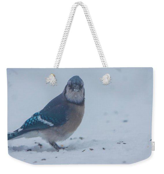 I Hate Snow In My Seeds Weekender Tote Bag