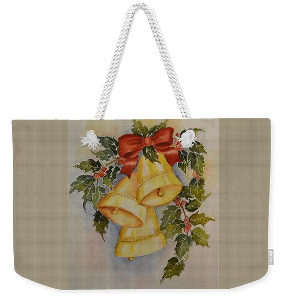 I Heard The Bells Weekender Tote Bag