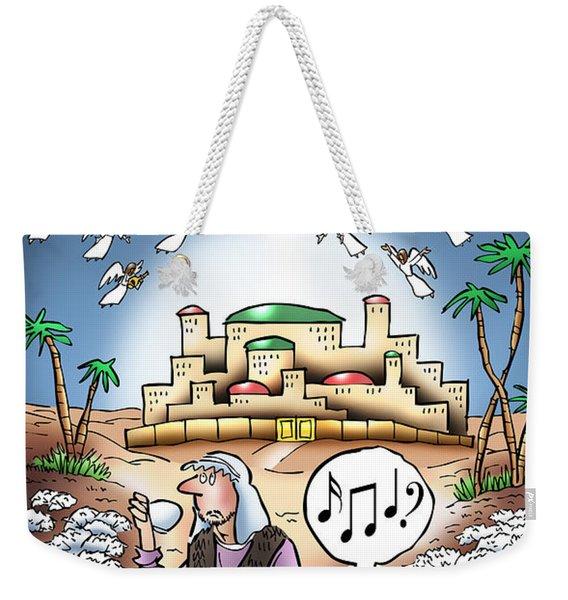 I Keep Hearing Music Weekender Tote Bag