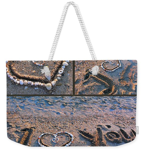 I Love You - Hearts For Valentine's Day Weekender Tote Bag