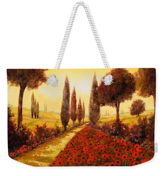I Papaveri In Estate Weekender Tote Bag