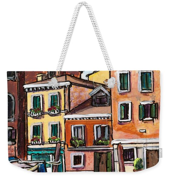 I Parked Out Front Weekender Tote Bag