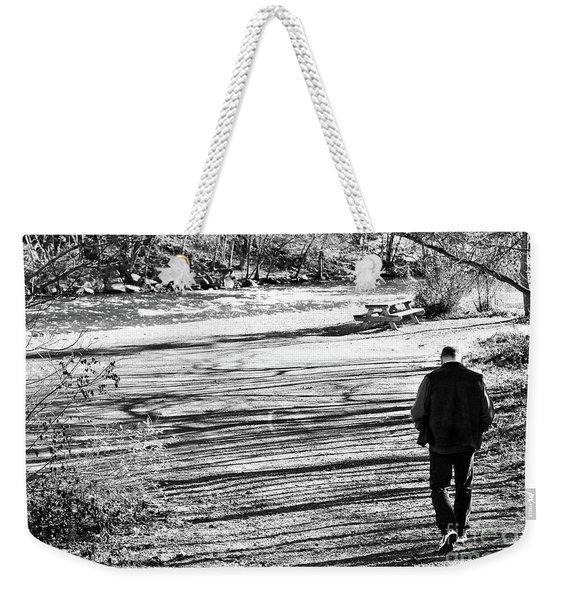 I Walk Alone Weekender Tote Bag