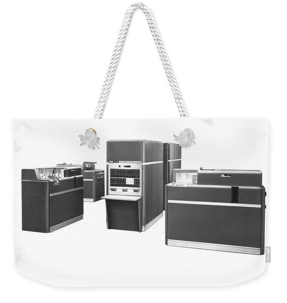 Ibm 650 Data Processing System Weekender Tote Bag