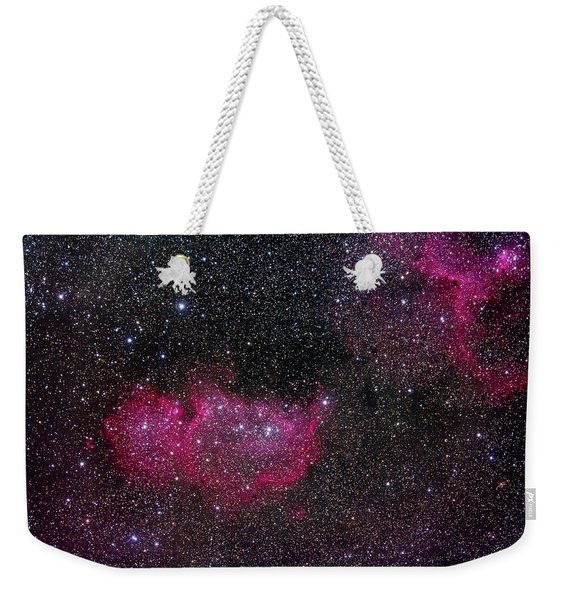 Ic 1848, The Soul Nebula Modified Canon Weekender Tote Bag