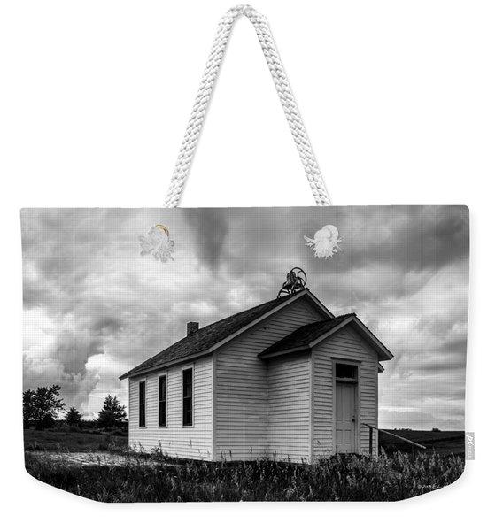 Icarian Schoolhouse Weekender Tote Bag