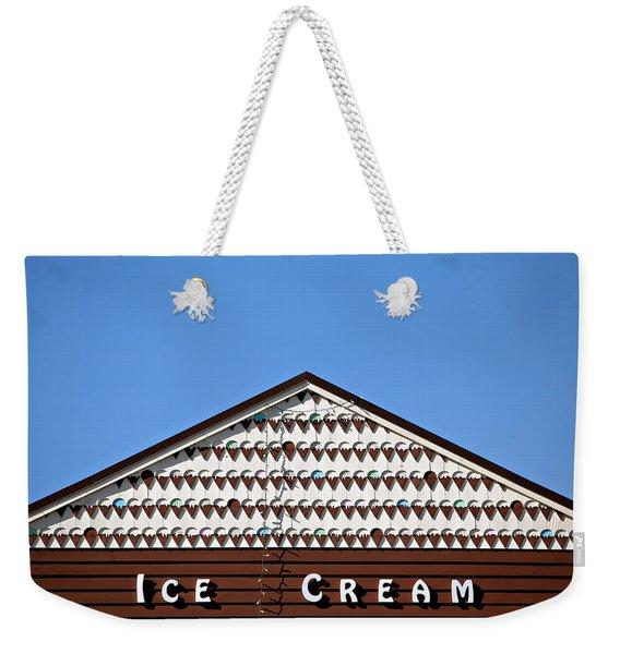 Ice Cream Shop Weekender Tote Bag