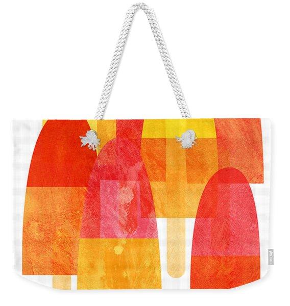 Ice Lollies Weekender Tote Bag